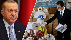 İmamoğlu'ndan Erdoğan'a 'bağış' resti!