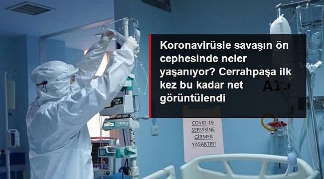 Koronavirüsle savaşın ön cephesinde neler yaşanıyor?