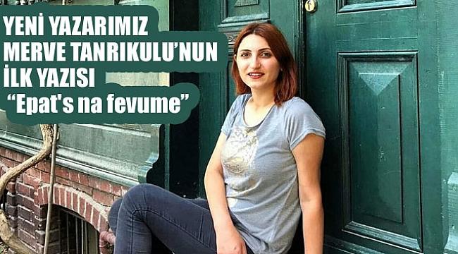 Trabzonlu sanatçı habercuk okurları için yazıyor