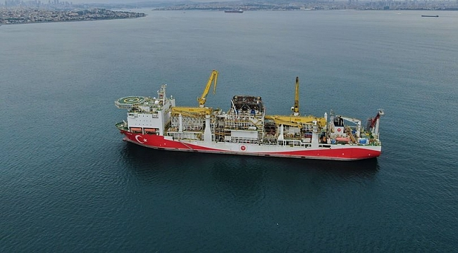 Fatih sondaj gemisi Karadeniz için hazır
