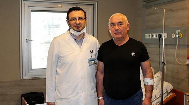 Şah damarı tıkandı hastanede kurtuldu