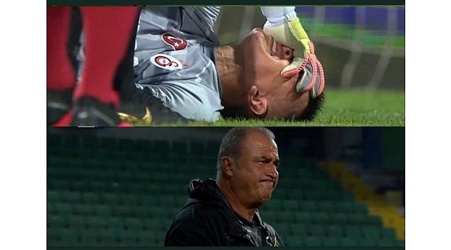 Galatasaray'da büyük şok! Muslera sakatlandı…