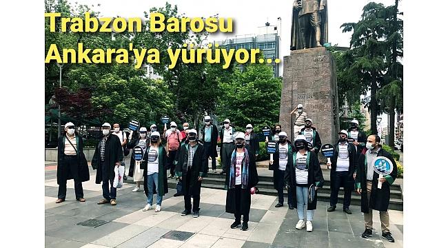 Trabzon Barosu o yasaya tepki için Ankara'ya gidiyor