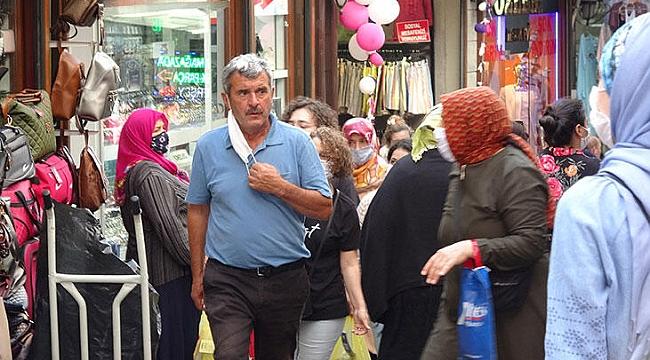 Trabzon'da burunlar maskeye sığmıyor