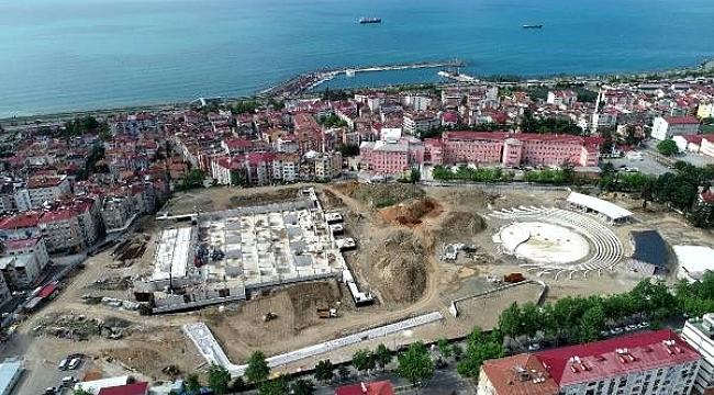 Trabzon'da millet bahçesi ekim ayında açılacak
