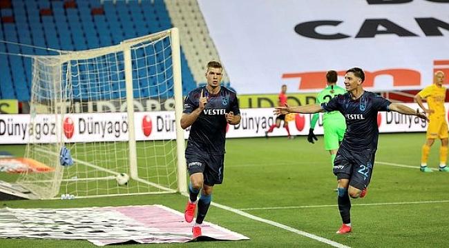 Trabzonspor'un şampiyonluk iddiası zora girdi