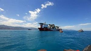 Yerli sondaj gemisi Trabzon'da