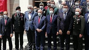 CHP heyeti Erzurumda