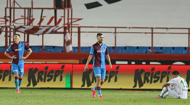 Trabzonspor'un başına gelmeyen kalmadı