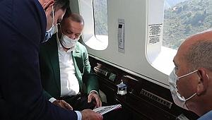 Erdoğan, dere yataklarındaki yapılanmayı eleştirdi