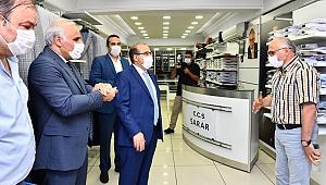 Trabzon'da işyerlerine korona denetimi yapıldı