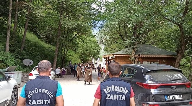 Trabzon'un turizm merkezlerinde Korona virüs denetimi