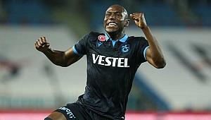 Trabzonspor'da Sörloth'un yerine gelen Afobe'den inanılmaz başlangıç!