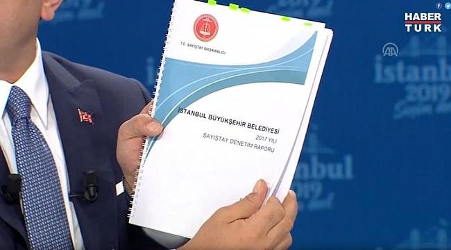 İmamoğlu'nun doğru söylediğini Sayıştay raporu ortaya çıkardı