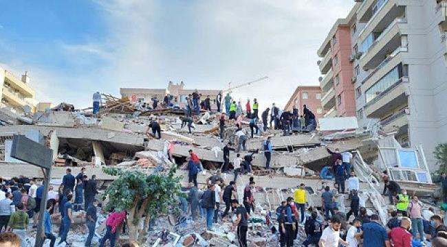 İzmir depreminde son durum! Yaşamlarını yitirenlerin sayısı 100'ü aştı