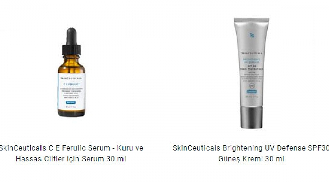 Skinceuticals Kullanımı Artıyor