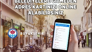 Trabzonlular adres bilgilerini belediyeye gitmeden sorgulayabilecek