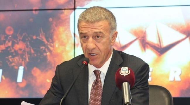 Trabzonspor Kulübü Başkanı Ağaoğlu'ndan Cumhuriyet Bayram'ı mesajı