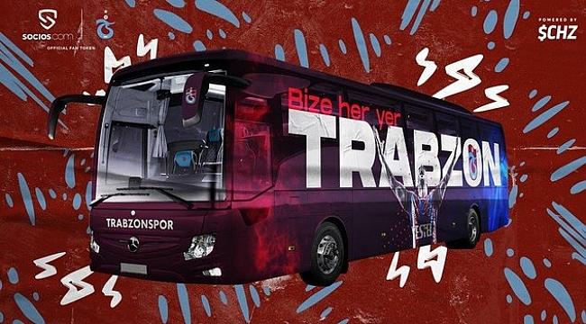 Trabzonspor'un takım otobüsünü taraftarlar tasarladı