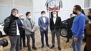 Başkan Ağaoğlu, TSYD'yi ziyaret etti