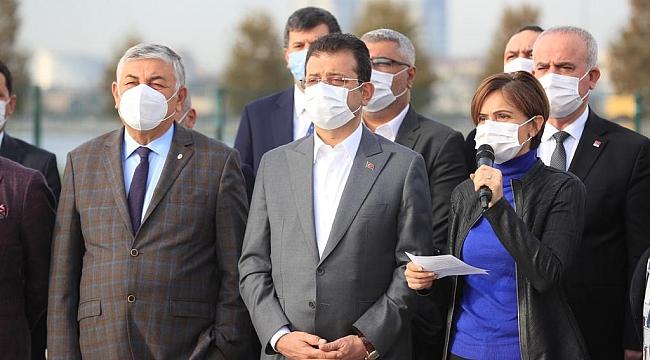CHP İstanbul'dan tehdit açıklaması: MİLYONLAR HADDİNİZİ BİLDİRİR