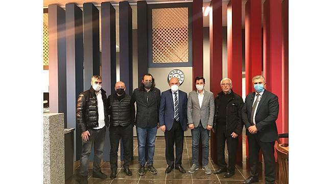 Divan Başkanı Sürmen, TSYD'yi ziyaret etti ve...