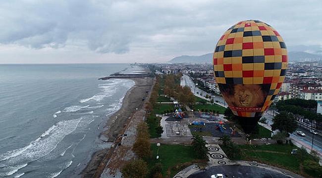 Ordu'da balon turizmi başladı! Trabzon'da eleştiriler yükseldi