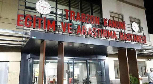 Trabzon'da o hastanenin poliklinikleri kapandı