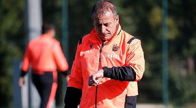 Trabzonspor'da Abdullah Avcı'nın parolası belli
