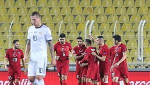 Türk Milli Takımı, tarihinde ilk kez Rusya'yı mağlup etti