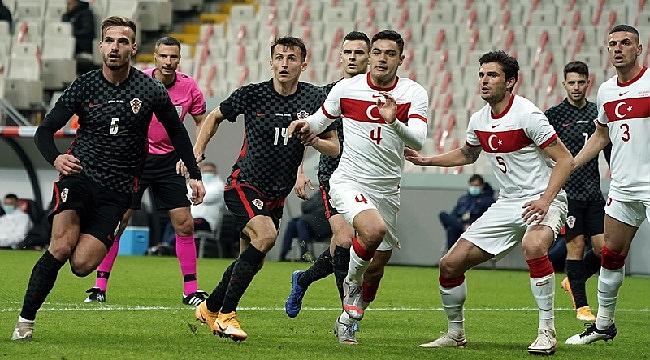 Türkiye-Hırvatistan karşılaşmasında gol düellosu