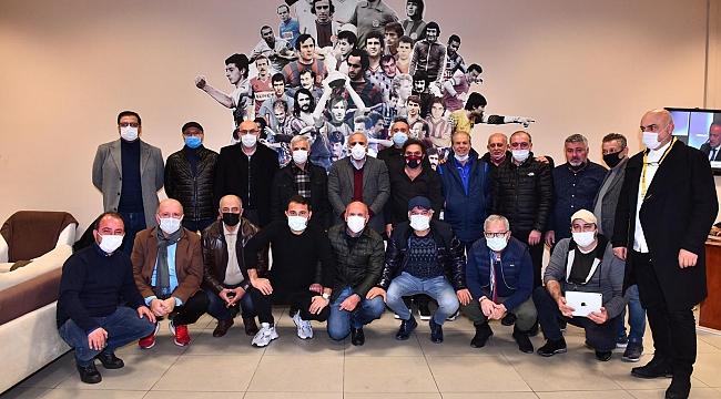 Başkan Zorluoğlu Trabzonspor'un efsaneleriyle buluştu