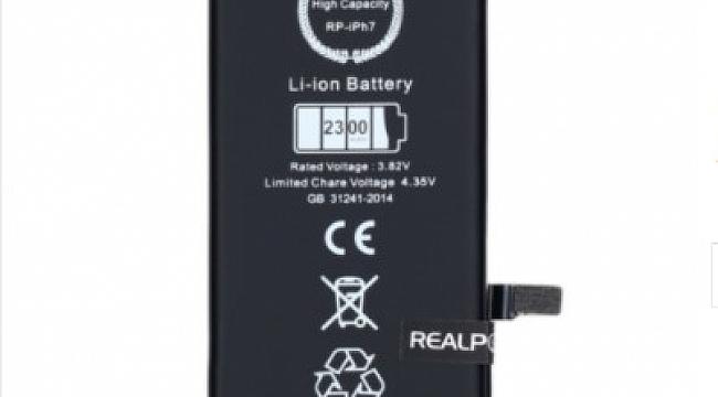 En Uygun İphone 7 Orjinal Batarya Fiyatı Real Power'da