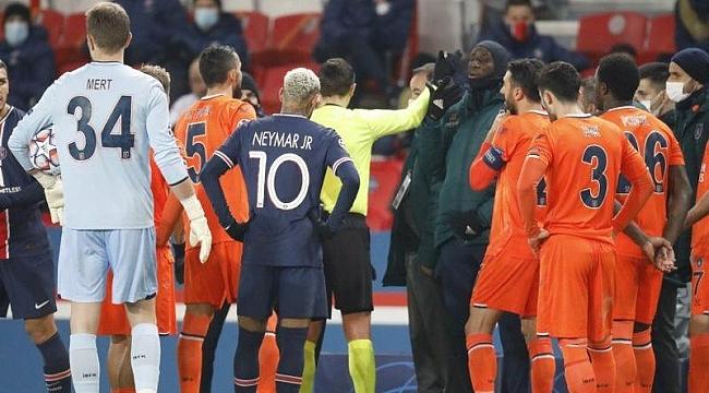 PSG-Başakşehir maçı yarıda kaldı! Webo'ya ırkçılık…