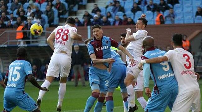 Trabzonspor ile Sivasspor 29. randevuda