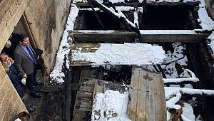CHP Heyeti Araklı'da yangın bölgesinde