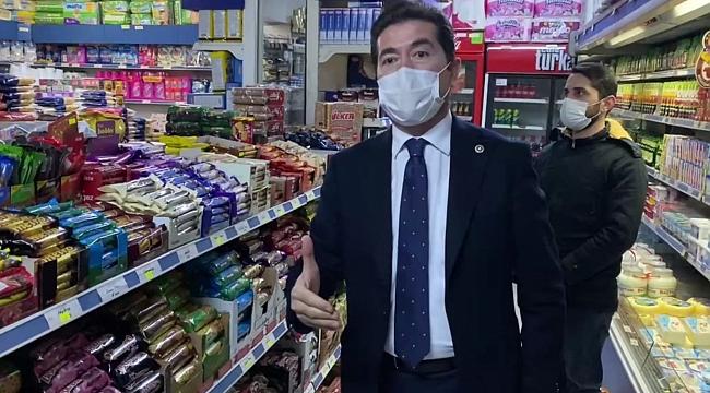 CHP'li vekil markete girdi gizli zamlara dikkat çekti...
