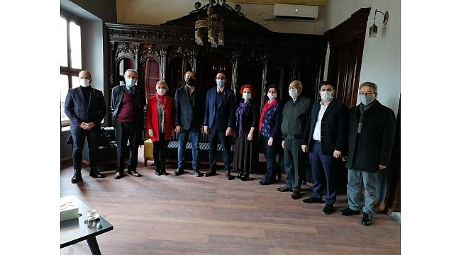 CHP Ortahisar İlçe Başkanı Oyman TGC'yi ziyaret etti