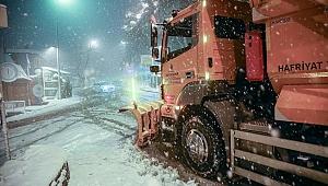İBB ekipleri kar teyakkuzunda...