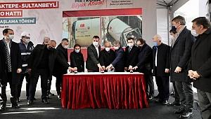"""İmamoğlu: """"Hedef yılda 20 KM metroyu İstanbullulara kazandırmak"""""""