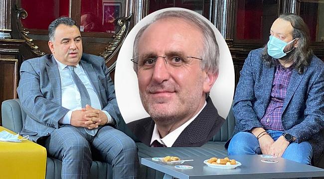 Kurt, helallik istedi, TİSKİ Genel Müdürü Ali Tekataş,