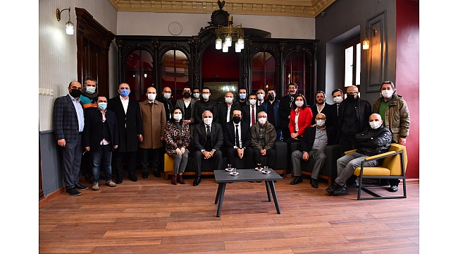 Trabzon basınının gücü binasına da yansıdı