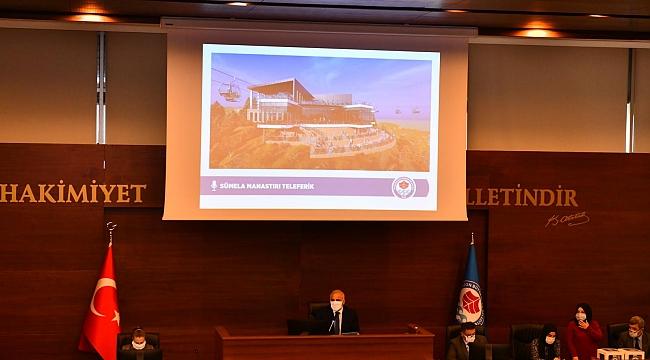 Trabzon Büyükşehir Belediyesi 2021 yılının ilk meclis toplantısı yaptı