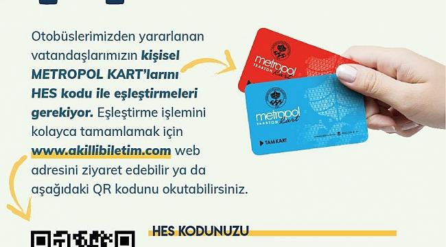 Trabzon'da toplu taşıma araçlarında HES kodu zorunlu oldu