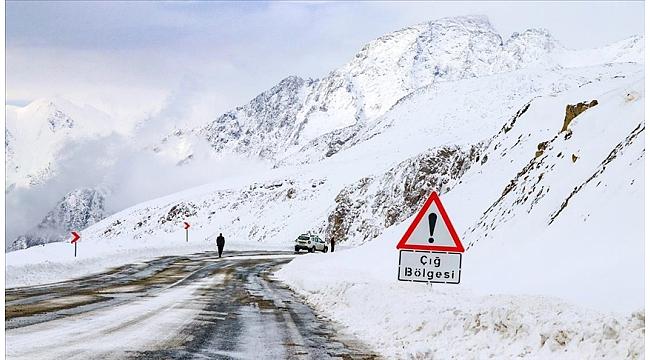Trabzon Valiliği'nden çığ uyarısı
