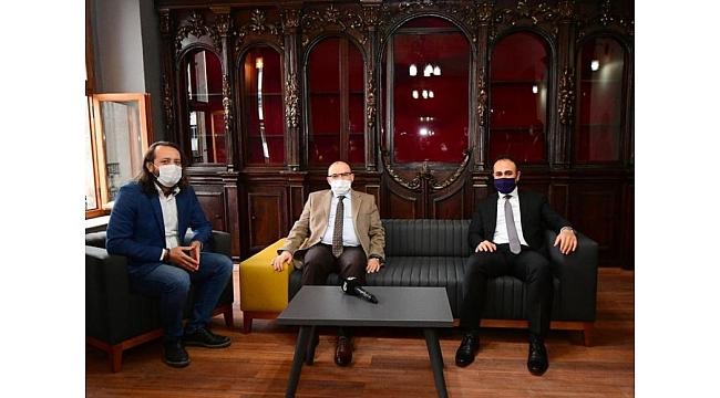 Trabzon Valisi Gazeteciler Cemiyeti'ni ziyaret etti, önemli açıklamalarda bulundu