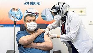 Türkiye genelinde kitlesel aşılama başladı