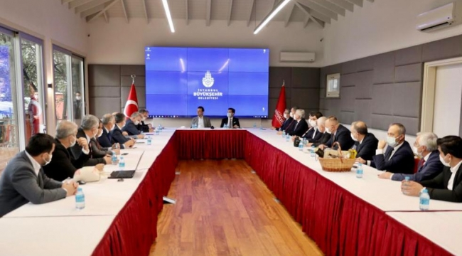 Yomra Belediye Başkanı Bıyık ve 15 İYİ Partili Belediye Başkanı İBB'de...