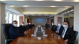 Beşikdüzü Kaymakamı Şakir Öner Öztürk Trabzon Arsin OSB'yi Ziyaret Etti