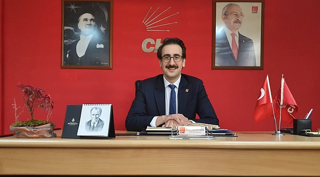 CHP Ortahisar İlçe Başkanı Fatih Suat Oyman'dan 24 Şubat mesajı